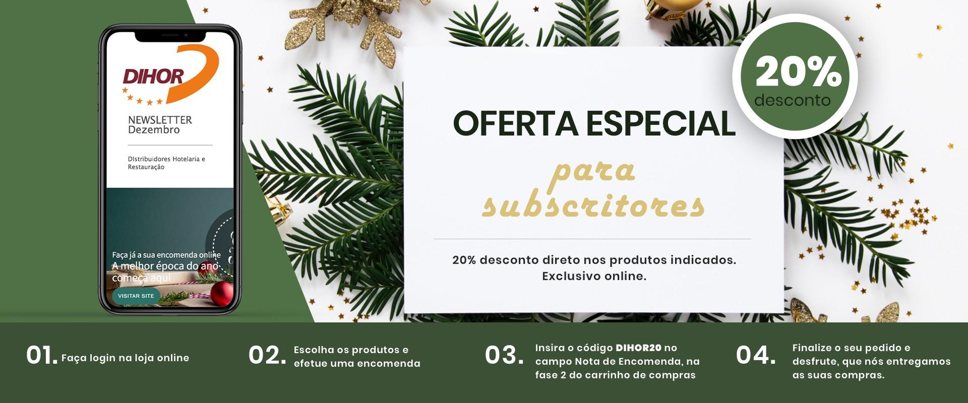 Oferta Exclusiva Subscritores